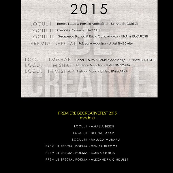 premiere 2015 becreativefest